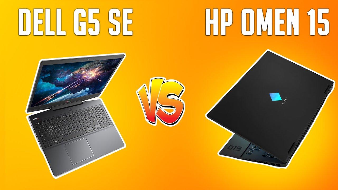 HP OMEN 15 vs DELL G5 15 SE Detailed Comparison 😬😬 1660Ti vs RX 5600M