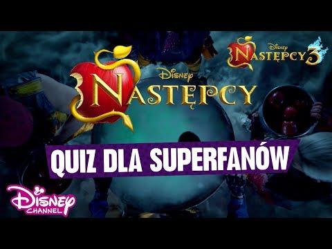 🤓 Następcy: Quiz dla superfanów! | Następcy 3 | Disney Channel Polska