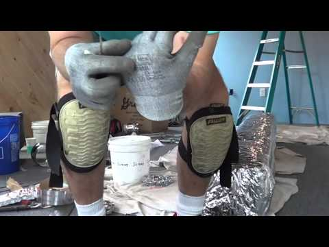 How To Wrap Ductwork With Bubble Wrap Insulation Youtube