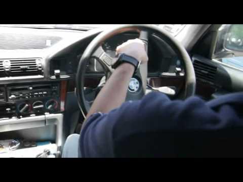 Test drive BMW 520i E34 engine M20, diisi premium, gigi 5 rpm 500, hasil Tune Up Semisport®