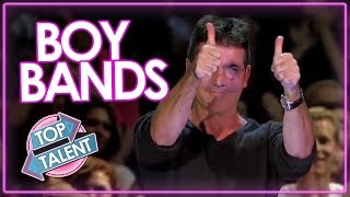 TOP 7 BEST BOY BAND Auditions On X factor & Got Talent | Top Talents