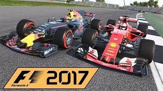 F1 2017 Game - No Pitstop Challenge