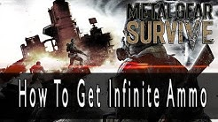 Metal Gear Survive How To Get Infinite Ammo For Any Weapon