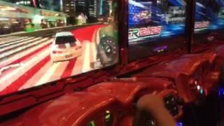 Car Racing At Dave N Buster