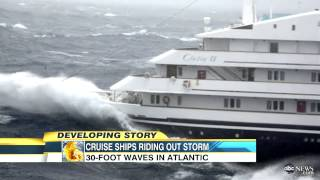 Hurricane Sandy: Cruise Ships Weather the Storm