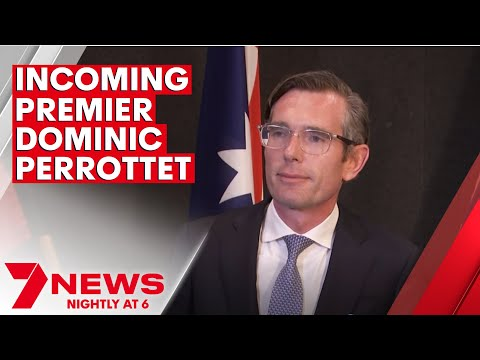 NSW Liberal leader Dominic Perrottet holds media conference