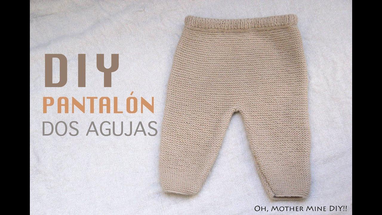 DIY Conjunto bebé parte 1: Cómo hacer pantalones de lana - YouTube
