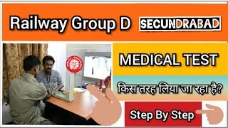 RRB Group D: Full Medical Experience Of Secundrabad Zone