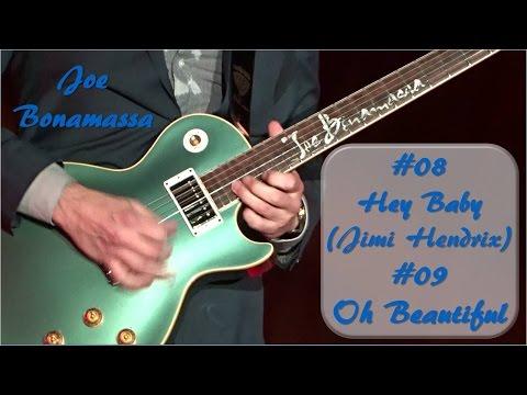 #08 Hey Baby, #09 Oh Beautiful! - Joe Bonamassa - Chemnitz 2016