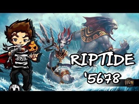 Hon เกรียนๆ Let's play Riptide ตบตัวขาด By ตั้น'5678