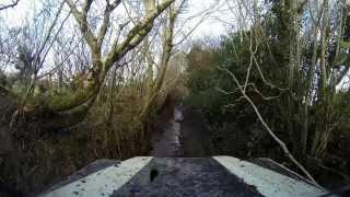 Landrover Defender Green Laning in South Devon