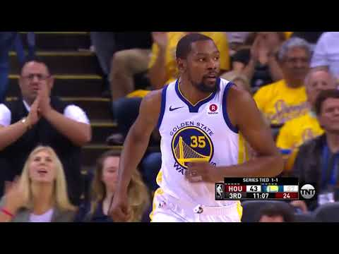Kevin Durant's Best Handles From The '17-'18 Western Conference Finals
