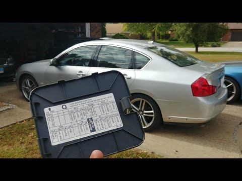 fuse & relay locations for the infiniti m35 m45. 2006-2010 - youtube  youtube