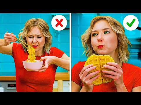 Smart FOOD Hacks You Should Try || 5-Minute Cooking Tips For Beginners And Pros!