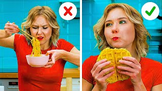 Smart FOOD Hacks You Should Try  5-Minute Cooking Tips For Beginners And Pros!