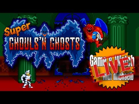 Super Ghouls 'n Ghosts (SNES) Game & Watch Live | MichaelBtheGameGenie