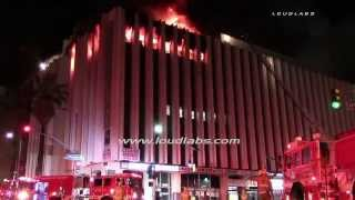 High Rise Commercial Structure Fire / Westlake   RAW FOOTAGE