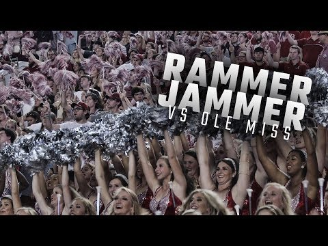 Alabama fans sing Rammer Jammer following the Tides 663 beat down of Ole Miss