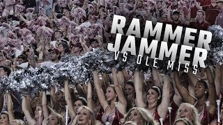 Alabama fans sing 'Rammer Jammer' following the Tide's 66-3 beat down of Ole Miss