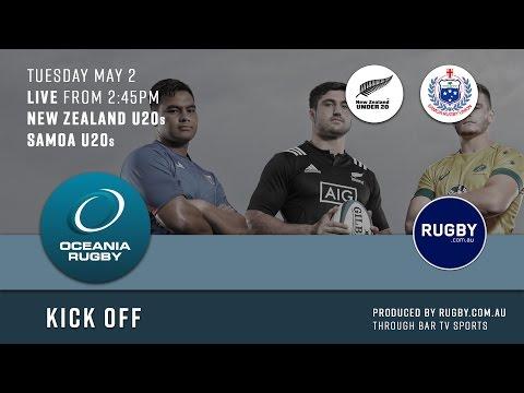 2017 Oceania Rugby Round 2 U20s Championship New Zealand vs Samoa