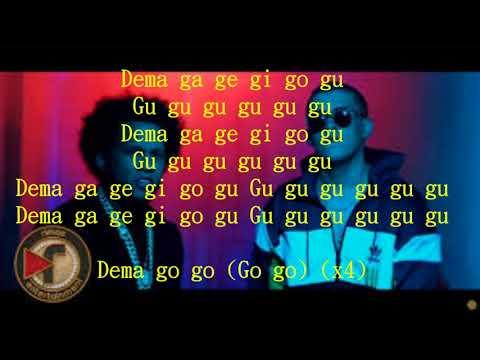 Bad Bunny - El Alfa El Jefe   Dema Ga Ge Gi Go Gu letra#..