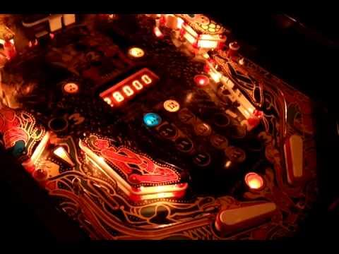 1981 Stern Lightning pinball machine gameplay