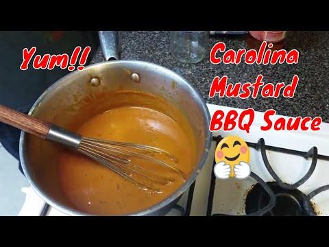 Carolina Mustard BBQ Sauce Recipe