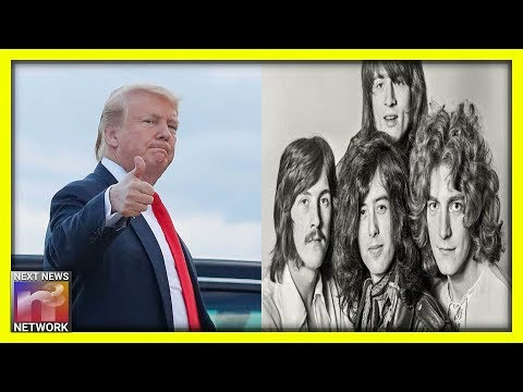 Trump Administration Supports Led Zeppelin in 'Stairway to Heaven' Copyright Dispute