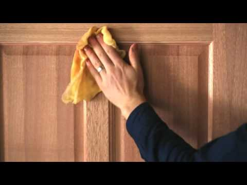 How to stain and varnish a timber door (interior or exterior)