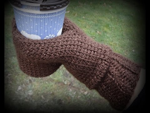 Beverage Cozy Mitt Video Tutorial 1 Youtube