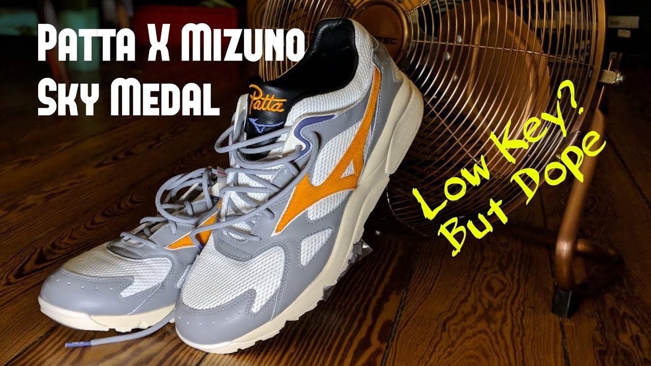 e6577d1a40 Patta Mizuno Sky Medal Review   On Feet   Under the Radar Sneaker Collab