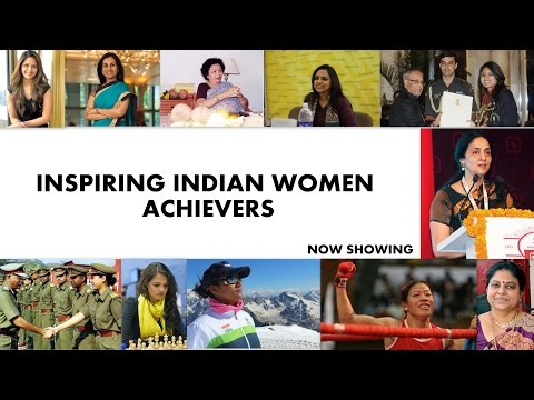 Inspiring Indian Women Achievers
