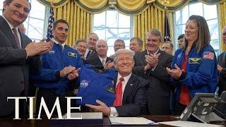 President Trump Signs Bill Authorizing NASA Funding & Mars Exploration | TIME