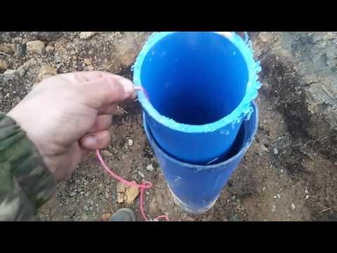 столб воды в скважине ,замеры