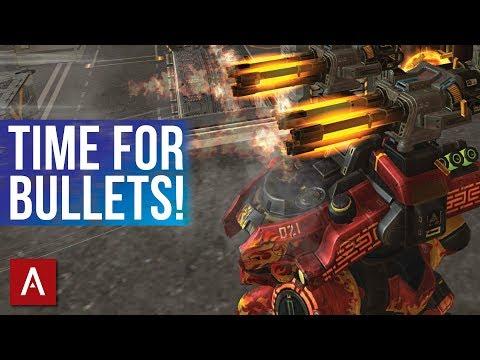 War Robots MK2 - Avenger Weapon   iOS Champion League Gameplay