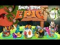 Angry Birds Epic - VICTORY Secret Level Poseidon Pig  - Angry Birds Part 37