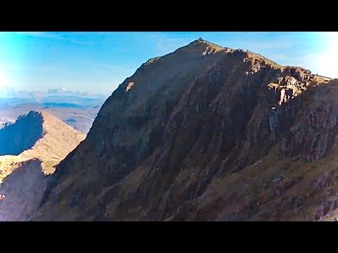 A walk up the Llanberis Path Mount Snowdon 29 Aug 2016. A terrific way to see this amazing place
