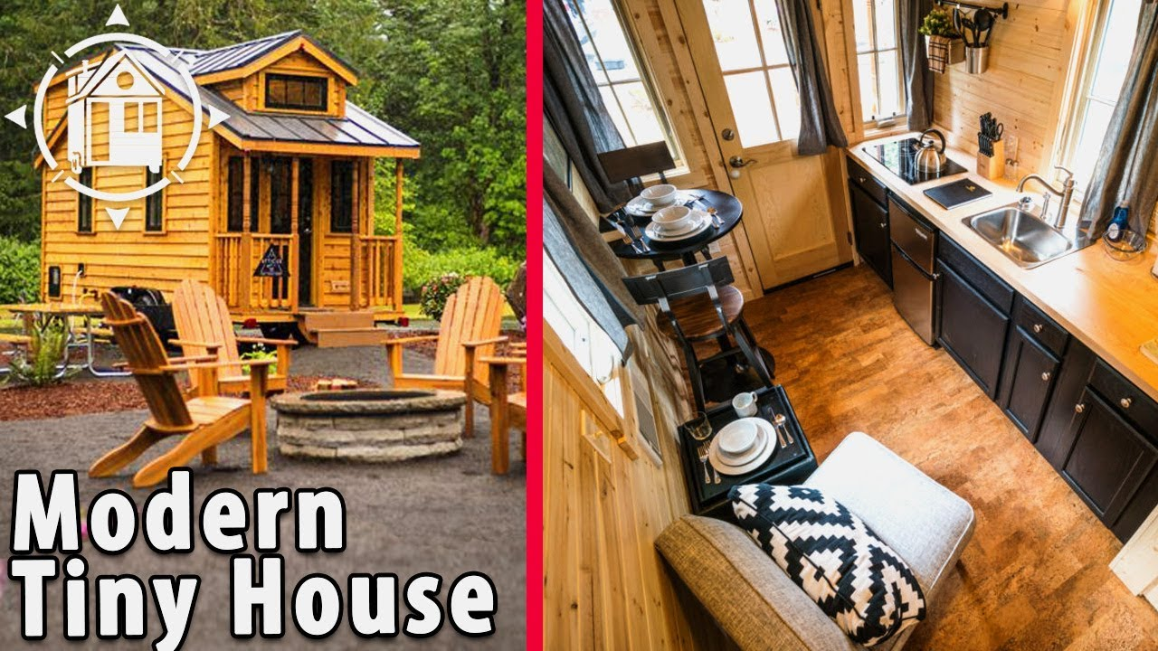 Atticus TINY HOUSE Rental at Mt Hood Tiny House Village YouTube
