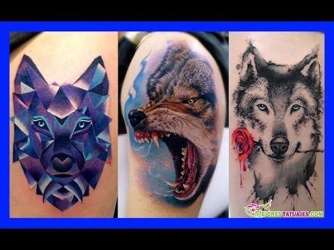 Los Mejores Tatuajes De Lobos Para Hombres Y Mujeres Significado
