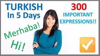 Download Lagu Learn Turkish in 5 Days - Conversation for Beginners mp3