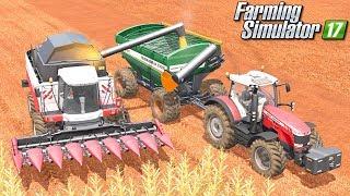 Ostatnie żniwa - Farming Simulator 17 [PLATINUM] | #52