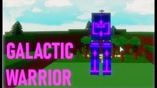 🌌Building a Galactic Warrior Mech! (High Tech)🌌| Roblox Build a Boat