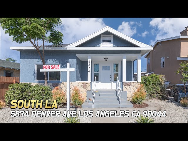 [Virtual Tour] 5874 Denver Ave, Los Angeles, CA 90044