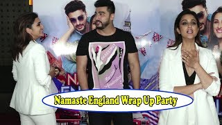 Parineeti Chopra Doesn't Want To Take A Picture With Arjun Kapoor At Namaste England Wrap Up Party