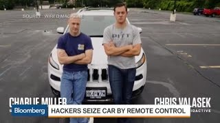 Jeep Hacked: Taking Over a Moving Car by Remote Control
