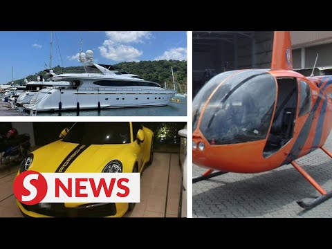 RM3.5mil cash found in 'project cartel' Datuk's house, yacht, helicopters and assets seized