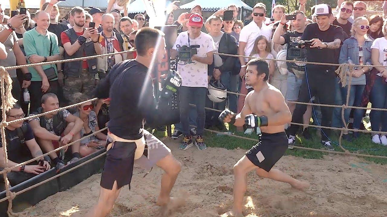 МИНИ ПАКЬЯО против Киргистанского Бойца ММА !!!