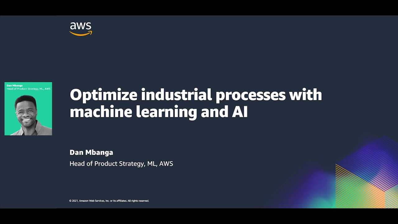 Optimize Industrial Processes With Machine Learning and AI - Hannover Messe 2021