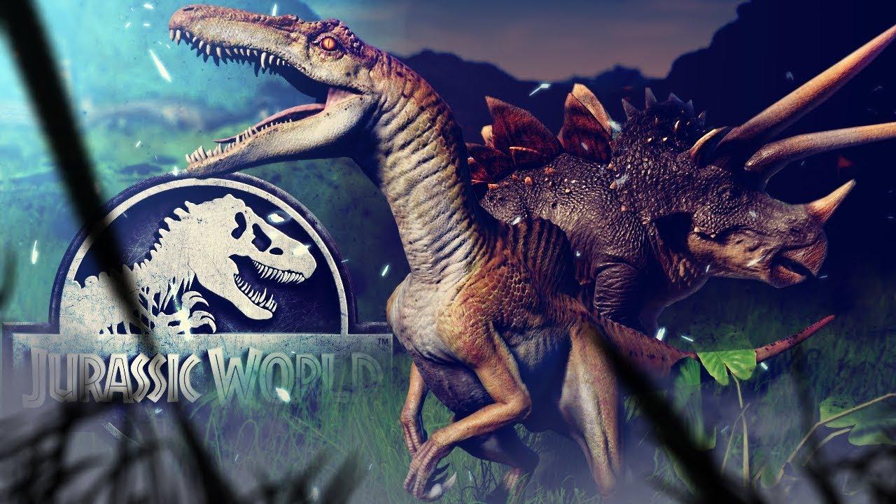 Jurassic World Evolution - All New Hybrids, Spinoraptor, Stegoceratops! -  Secrets of Dr Wu Gameplay