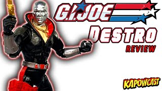 G.I. JOE CLASSIFIED DESTRO REVIEW